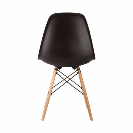 Nicer Furniture Black Modern Eiffel Dining Room Chairs - image 2 of 4