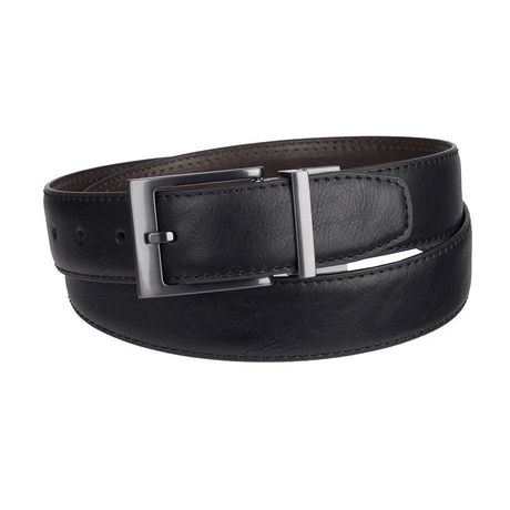 e06f4c7b7 Genuine Dickies Men s 35 mm Feather Edge with Stitch Reversible Belt -  image 1 ...
