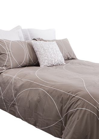 gouchee design cord duvet cover set walmart canada. Black Bedroom Furniture Sets. Home Design Ideas