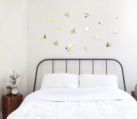 Confetti Triangles (16) Brass - image 4 of 4