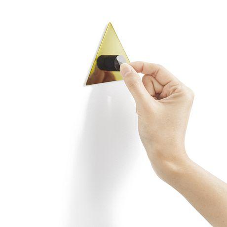 Confetti Triangles (16) Brass - image 2 of 4
