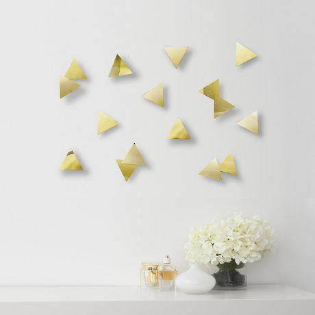 Confetti Triangles (16) Brass - image 3 of 4
