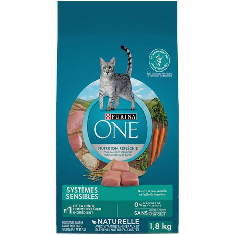 Purina ONE Sensitive Systems Natural Dry Cat Food - image 2 of 9