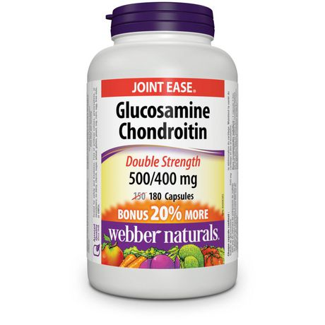 Webber Naturals® Glucosamine Chondroitin Double Strength, 500/400 mg - image 1 of 4