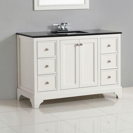 carlyle meuble lavabo 48 po avec dessus en granit noir walmart canada. Black Bedroom Furniture Sets. Home Design Ideas