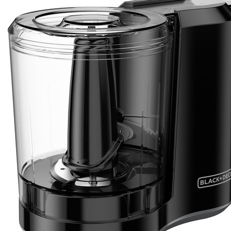 BLACK+DECKER One-Touch 3-Cup Electric ChopperManual, Black, HC300BC - image 8 of 9