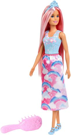 Barbie Dreamtopia Princess Doll, Pink Hair - image 1 of 7