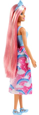 Barbie Dreamtopia Princess Doll, Pink Hair - image 7 of 7
