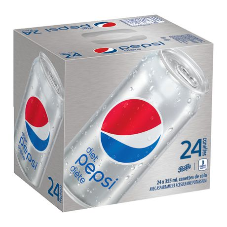 Diet Pepsi, 355mL Cans, 24 Pack - image 2 of 5