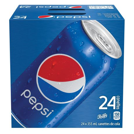 Pepsi, 355mL Cans, 24 Pack - image 1 of 5