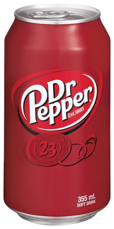 Dr Pepper, 355mL Cans, 24 Pack - image 2 of 2