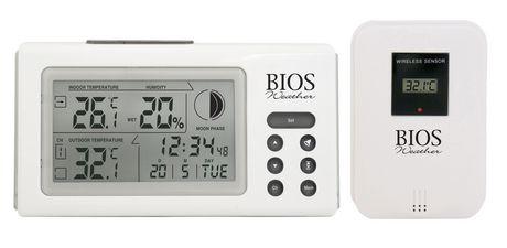 Thermom tre hygrom tre int rieur ext rieur sans fil - Thermometre interieur maison ...