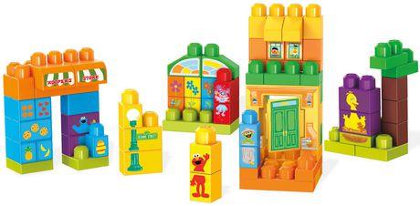 Mega Bloks – Sesame Street – Construisons Sesame Street - image 1 de 2
