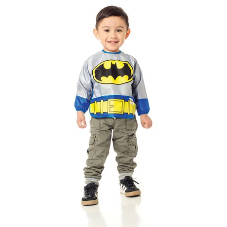 6-24 months New Batman Bumkins DC Comics Costume Sleeved Bib
