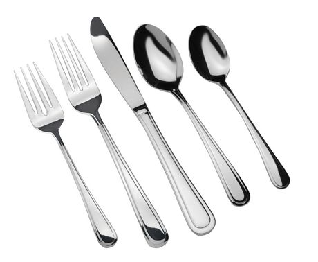 Home Trends 40 Piece 1810 Stainless Steel Flatware Set Walmart Canada