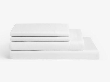 Ensemble de draps 4 pièces Spa Blanc - image 2 de 3