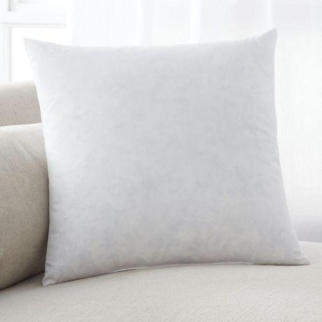 Intérieur de l'oreiller cotton rempli de plumes (18po x 18po) - image 1 de 2