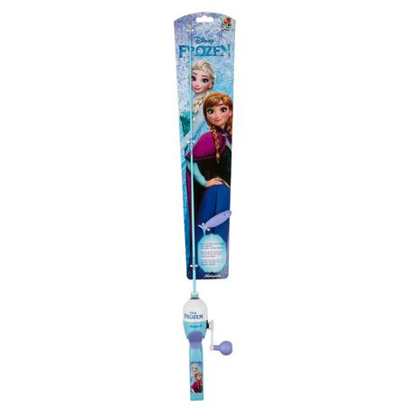 Shakespeare frozen kids fishing combo walmart canada for Kids fishing poles walmart