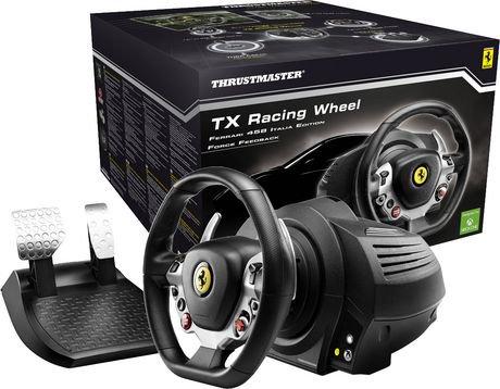 thrustmaster volant tx racing wheel ferrari 458 italia - édition