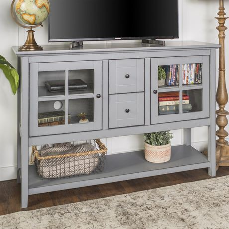 Manor Park 52 Quot Wood Console Table Buffet Tv Stand