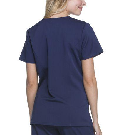 ca54e33ab74 Scrubstar Women's Premium Collection Stretch Rayon V-Neck Scrub Top - image  2 ...