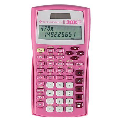 Texas Instruments TI 30XIIS Pink Calculator - image 1 of 1