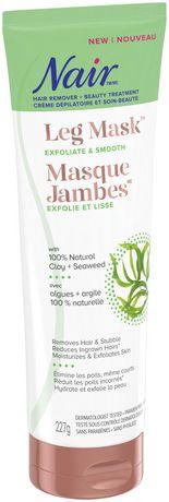 Nair Leg Mask with 100% Natural Clay + Seaweed - image 3 of 5