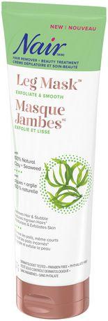 Nair Leg Mask with 100% Natural Clay + Seaweed - image 2 of 5
