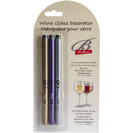 Décorateur-crayon de verre à vin de Brilliant - image 2 de 2