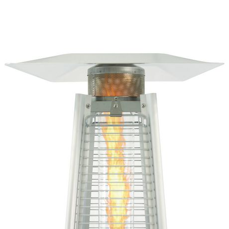 dyna glo dgph302ss btu stainless steel pyramid flame patio heater