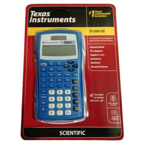 Texas Instruments TI-30XIIS Blue Scientific Calculator - image 1 of 2