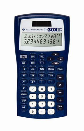 Texas Instruments TI-30XIIS Blue Scientific Calculator - image 2 of 2