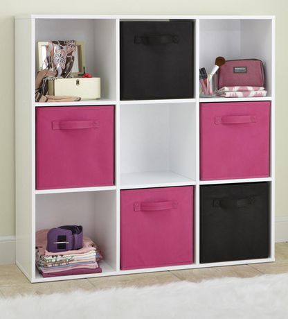 closetmaid stackable 9 cube organizer