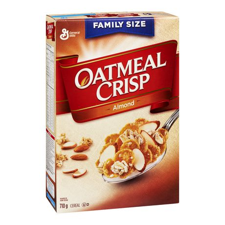 Oatmeal Crisp ™Almond Cereal Family Size - image 1 of 7