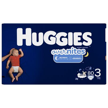 Couches HUGGIES OverNites, couches pour la nuit - image 2 de 4