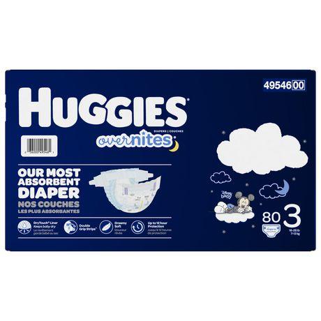HUGGIES OverNites Diapers, Giga Pack - image 3 of 4