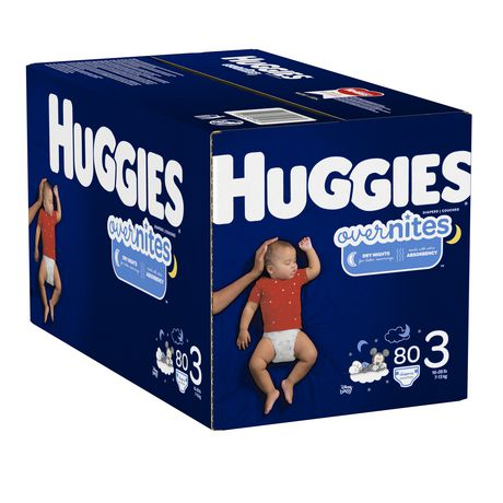HUGGIES OverNites Diapers, Giga Pack - image 4 of 4