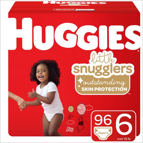 HUGGIES Little Snugglers Diapers, Econo Pack - image 1 of 4