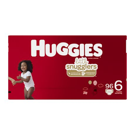 HUGGIES Little Snugglers Diapers, Econo Pack - image 2 of 4