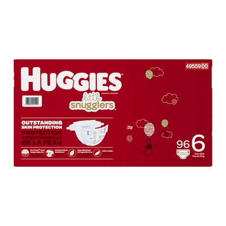 HUGGIES Little Snugglers Diapers, Econo Pack - image 3 of 4