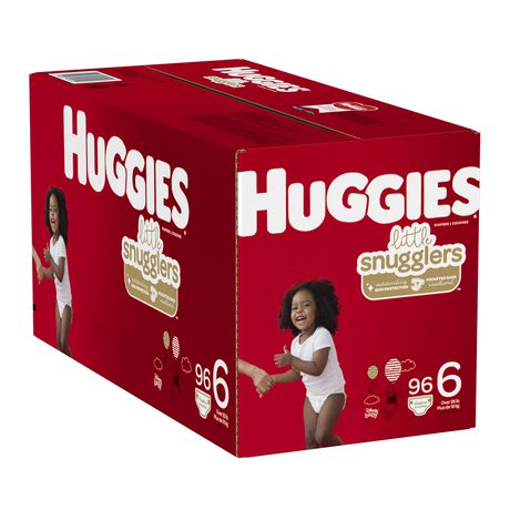 HUGGIES Little Snugglers Diapers, Econo Pack - image 4 of 4