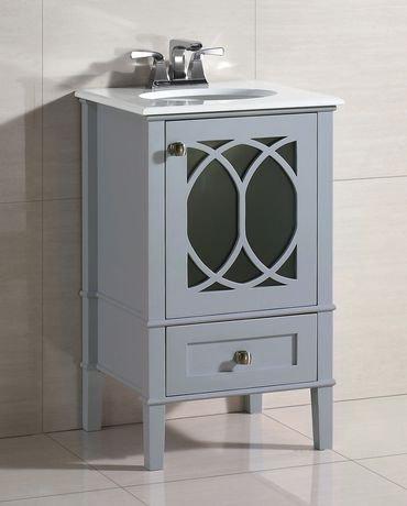 mulberry meuble lavabo 20 po avec dessus en marbre blanc walmart canada. Black Bedroom Furniture Sets. Home Design Ideas