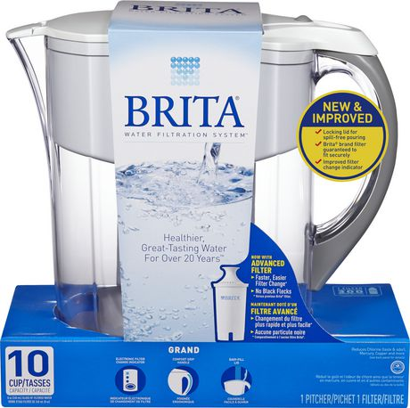 brita® grand pitcher, white | walmart canada