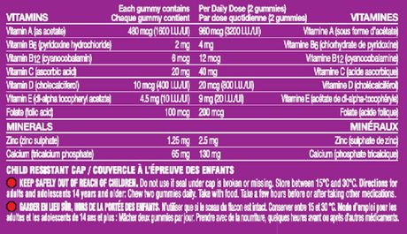 One A Day Women Multivitamin Tablets - image 3 of 3