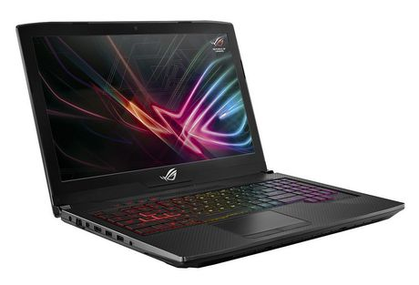 "Asus Rog 15.6"" Gaming Laptop, Black, 8th-Gen 6-Core Intel Core i7-8750H Processor (up to 3.9GHz), GTX 1050 Ti 4GB, 8GB, 1TB, Win 10, GL503GE-RS71 - image 2 of 2"