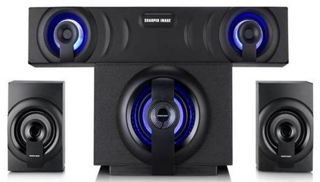 Sharper image sbt3009 bluetooth home theater 3 1 sound - Home cinema bluetooth ...