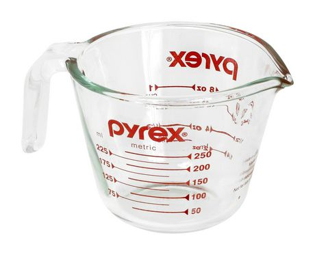 Pyrex® Original's 1-Cup Glass Measuring Cup - image 1 of 1