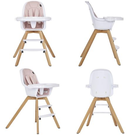 Evolur Zoodle 3-in-1 High Chair I Booster Feeding Chair I Modern Design I Toddler Chair I Removable Cushion I Adjustable Tray I Baby, Infant, and Toddler - image 7 of 9
