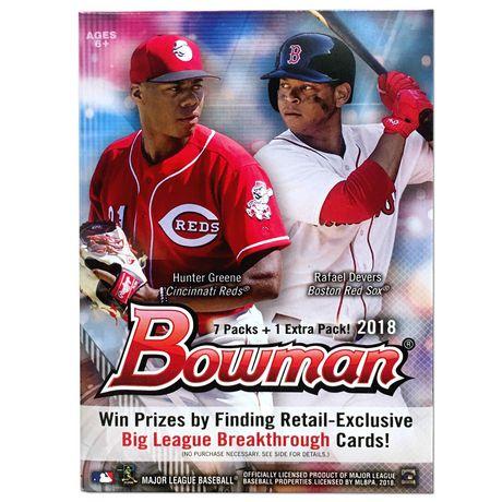 2018 Topps Bowman Mlb Baseball Value Box Trading Cards