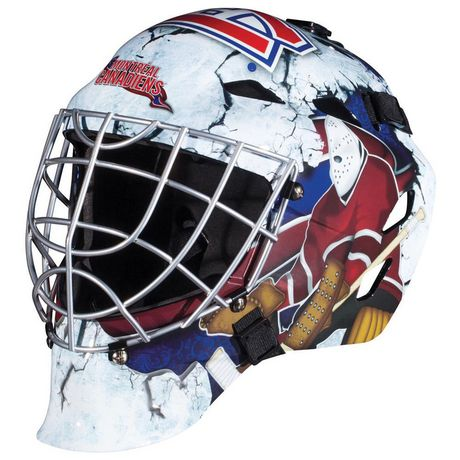 Franklin Sports Gfm 1500 Nhl Montreal Canadiens Goalie Face Mask
